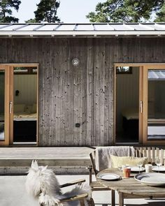 Exterior Design, Interior And Exterior, Haus Am See, Wooden House, Prefab, House In The Woods, Interior Architecture, Sweet Home, House Design