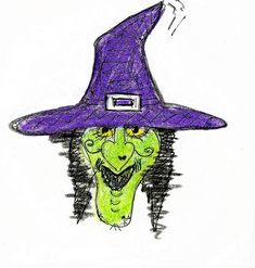 """The Winsome Witch. From """"The Friendly Creatures"""" by Tony Ridgway Witch, Creatures, Stuff To Buy, Witches, Witch Makeup"""