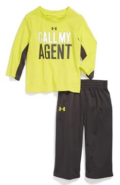 Under Armour 'Call My Agent' T-Shirt & Pants (Baby Boys) available at #Nordstrom