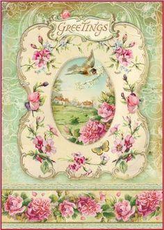 Ryžový papier, Greetings, A4
