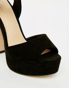 Image 4 ofALDO Variana Black Platform Sandals