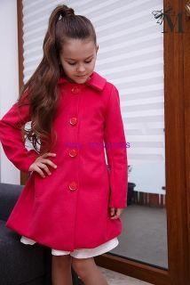 dievčenský kabát TINA v ružovej farbe