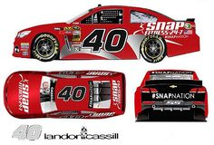 Snap Fitness will sponsor Landon Cassill in four races plus the Sprint Showdown