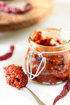 Red Chili Paste is used in many Indo Chinese and Asian recipes and it's very easy to make at home. Here is a very simple recipe to make it.