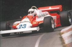 1979 Bruno Giacomelli - Marlboro Alfa Romeo 179C