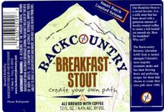 Back Country Breakfast Stout