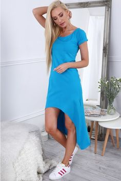 Short Sleeve Dresses, Dresses With Sleeves, Blues, Summer Dresses, Casual, Fashion, Gowns With Sleeves, Summer Sundresses, Moda