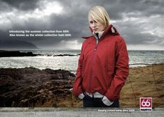 Red jacket outdoor fashion