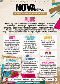 NOVA Festival lineup