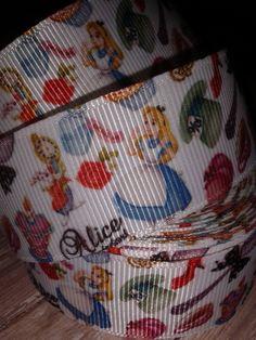 Alice in Wonderland #3 Grosgrain Ribbon by RibbonstoBowsandMore on Etsy