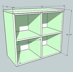 Ana White   Cubby Hutch for the Cubby Storage Collection - DIY Projects