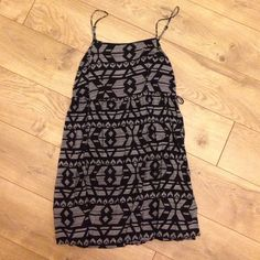 Urban Outfitters black & white dress - XS Summer dress with adjustable shoulder straps and side ties. Excellent condition. Urban Outfitters Dresses