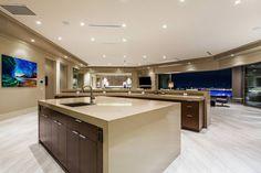 Contemporary Vegas Home – 23 Hawk Ridge Dr, Las Vegas NV 89135 - luxury kitchen