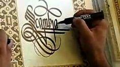 calligraphy - YouTube