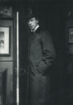Die Kunst in der Photographie: 1897.  Photographer: Frederick Hollyer Title: Portrait Studien