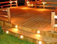 lights on the steps?