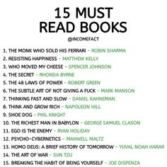 Books Everyone Should Read, Best Books To Read, Good Books, My Books, Book Suggestions, Book Recommendations, Reading Lists, Book Lists, Books For Self Improvement