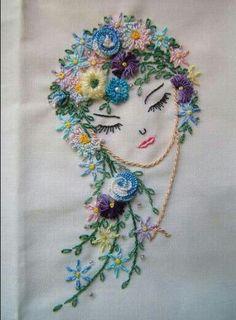 Brazillian embroidery