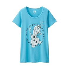 WOMEN DISNEY PROJECT Short Sleeve Graphic T-Shirt (Frozen)