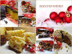 A Natale,si preparano tante cose buone e per concludere il ricco pranzo ,non possono mancare i Dolci di Natale