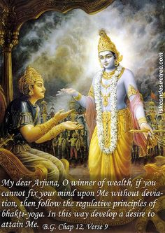 Srimad Bhagavad-Gita : ( Karma-sanyasa-yogam ) ( The Lord said: The renunciation of work and work in dev. Radha Krishna Quotes, Krishna Love, Krishna Radha, Geeta Quotes, Lord Krishna Images, Krishna Pictures, Lord Vishnu Wallpapers, Bhakti Yoga, Bhagavad Gita