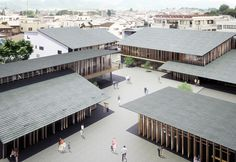 Tomioka City Hall (on going) — (仮称) 富岡市新庁舎 (進行中) | Architecture | Kengo Kuma and Associates