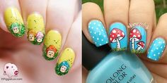 Awesome Mushroom Nail Art Ideas!