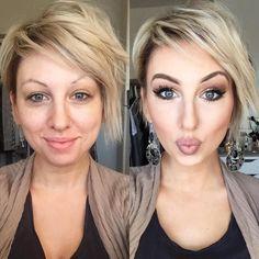 I love makeup. I love makeup. I Love Makeup, Day Makeup, Skin Makeup, Makeup Art, Beauty Make-up, Beauty Hacks, Hair Beauty, Make Up Looks, Semi Cut Crease
