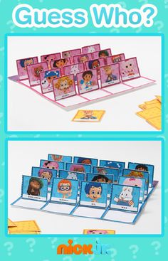 Easy DIY Nick Jr. Guess Who Game! Just print, cut, and play!