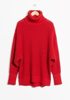 & Other Stories | Wool Turtleneck Sweater 890 sek