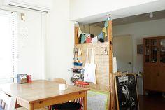 賃貸でもOKなDIY棚作り。「PILLAR BRACKET」で空間を自由にデザインしよう! | キナリノ Pantry Closet, Life Hacks, Diy And Crafts, New Homes, Interior, Room, House, Inspiration, Furniture