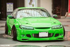 S15 in lime green wow she's hot