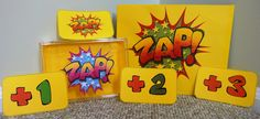 Have you played ZAP yet? It's an incredibly easy game that can earn you one, two or three points for correctly answering questions. That is, of course, unless you get ZAPPED! Zapped contestants lose all of their points and must return point cards to the game card holder. Great review activity for any subject. (2.00)