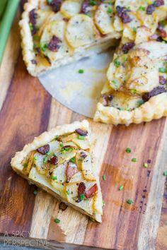 Easy Irish Potato Pie #irish #stpaddysday #potatoes
