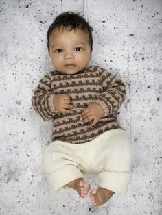Mønstertrøje II - til baby og børn