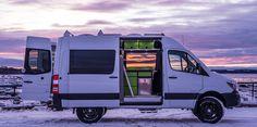 Rv conversions forward alaska camper van conversions alaska camper van