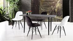 Cross Masa Urban Sandalye Mutfak Set Dining Chairs, Metal, Furniture, Home Decor, Dining Chair, Metals, Interior Design, Home Interior Design, Dining Table Chairs