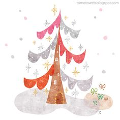 Christmas Forest by tomoto :D http://tomotoweb.blogspot.tw/