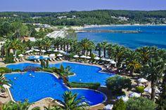 Sani Resort on the Kassandra peninsula Halkidiki, Greece