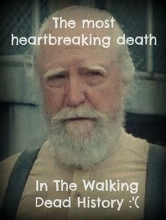 I screamed and cried... We'll miss you Hershel. F** you Governor!!! You got what you deserved!!