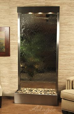 indoor waterfall indoor wall