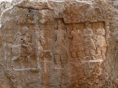 Human History In Brief - Relief of Mithridates I seen riding on horseback at Xong-e Ashdar in Izeh, Khuzestān Perse Antique, Parthian Empire, Harappan, Sassanid, Gospel Of Luke, Ancient Persia, Ancient Near East, Iranian Art, High Resolution Wallpapers
