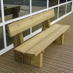 bois Laon in 2020 Pallet Furniture Bench, Wood Bench Plans, Yard Furniture, Diy Outdoor Furniture, Furniture Projects, Rustic Furniture, Coaster Fine Furniture, Modern Furniture, Woodworking Projects Diy