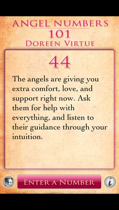 Angel Number 44 - Number 44 carries the doubled vibrations of the number 4, making its energies and influences magnified. Number 4 resonates with the attributes of support and stability, establishing solid foundations for the self and others, willpower and effort, ability and worthiness, hard work and achieving success, wholeness and inner-wisdom. Number 4 is associated with our passions and drive. - http://sacredscribesangelnumbers.blogspot.ro/2011/07/angel-number-44.html