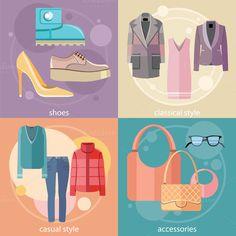 Fashion Design Clothes and Accessori by robuart on Creative Market