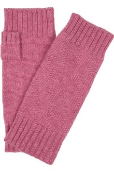 N.Peal Cashmere Fingerless cashmere gloves - 50% Off Now at THE OUTNET