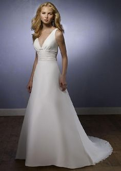 how to sew wedding gown