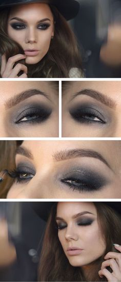 Smoky #Makeup Tips And #Ideas We Have Learnt From Our Moms http://www.everydaynewfashions.com/