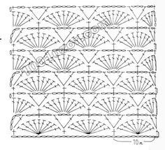 Russian site - LOTS of lovely patterns with diagrams. Another graph pattern that I don't know how to follow. I hope to be able to understand these patterns one day SOON!