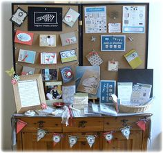 Devotion to the Dream-stampin up party display
